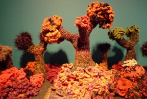 hyperbolic crochet reef exhibition (Hayward Gallery, London)