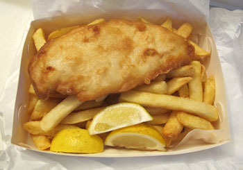 fish & chips takeaway!