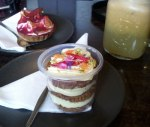 Dessert for three at Not Just Coffee