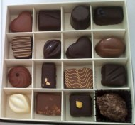 Chocolate pralines!