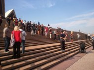 The Teena Procession arrives at the Sydney Opera House!