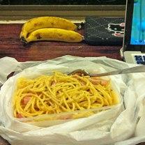 Spaghetti Carbonara-on-the-Go