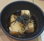 More variations on Agedashi Tofu
