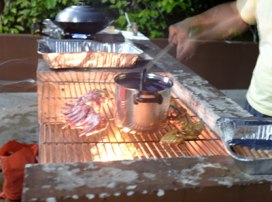More barbecue...