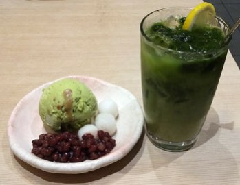 Favourite Japanese green tea desserts.