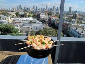Mini barbecue view a view!